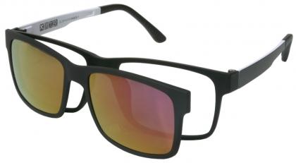 2e5d2bb084 Full rim lightweight Ultem heat-resistant thermoplastic with Polarized clip-on  frame (medium size)