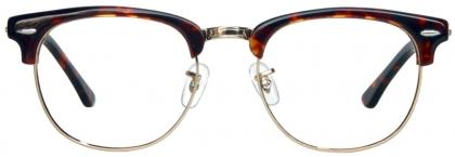 3cf3f95973b 1950s Browline full rim metal with plastic temple glasses (medium ...
