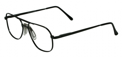 4101a2f1a892 Aviator full rim metal frame with Strap Bridge Nose Pads (large size ...